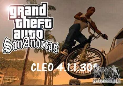 CLEO 4.1.1.30f para GTA San Andreas