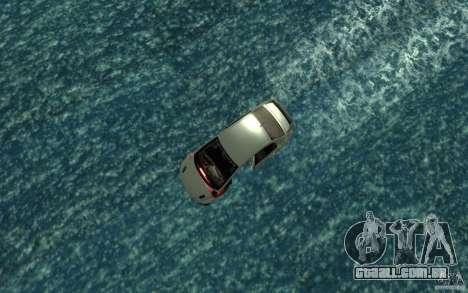Honda Civic Mugen RR Boat para GTA San Andreas vista direita