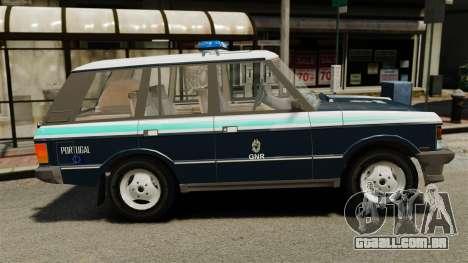 Range Rover Classic ELS para GTA 4 esquerda vista