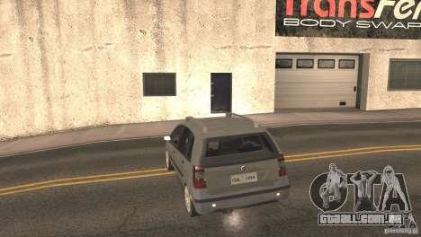 Fiat Idea HLX para GTA San Andreas vista traseira