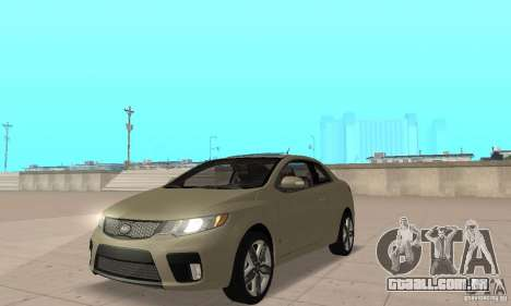 Kia Forte Koup 2010 para GTA San Andreas