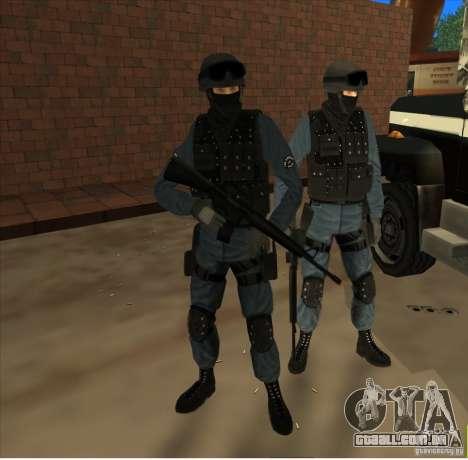 Los Angeles S.W.A.T. Skin para GTA San Andreas segunda tela