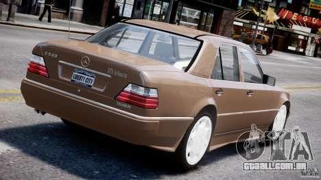 Mercedes-Benz W124 E500 1995 para GTA 4 rodas