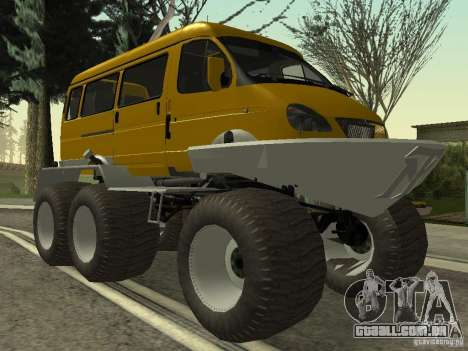 Gazela 2705 pântano buggy para GTA San Andreas
