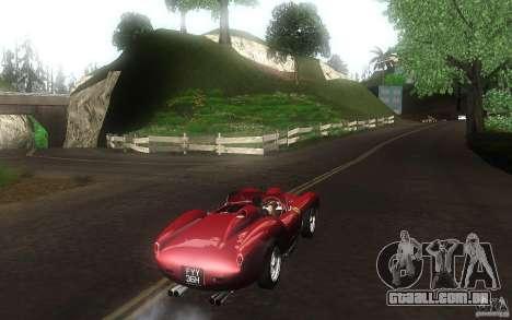 Ferrari 250 Testa Rossa para GTA San Andreas vista direita