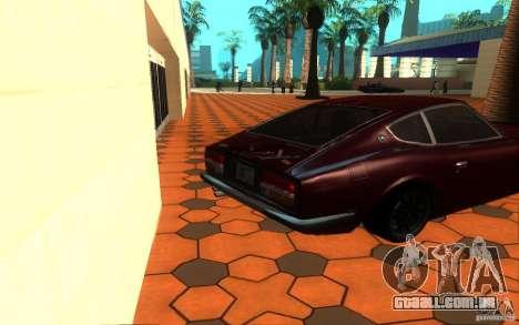 Nissan Fairlady Z 432 para GTA San Andreas traseira esquerda vista