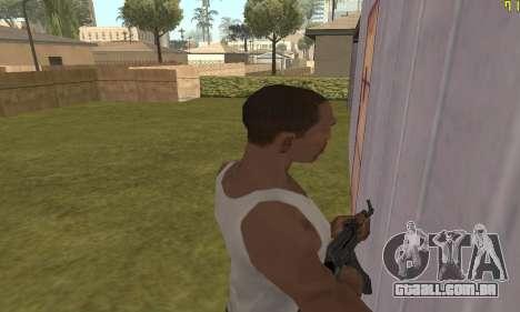 AKMS para GTA San Andreas sexta tela