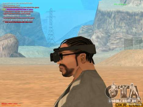 Thermal Goggles para GTA San Andreas terceira tela
