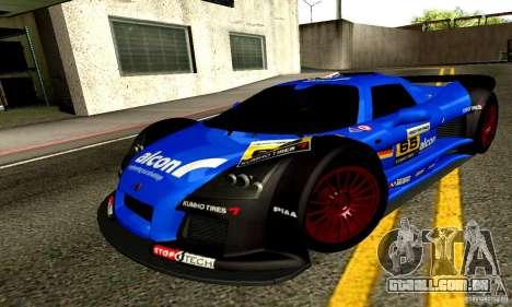 Gumpert Apollo para o motor de GTA San Andreas