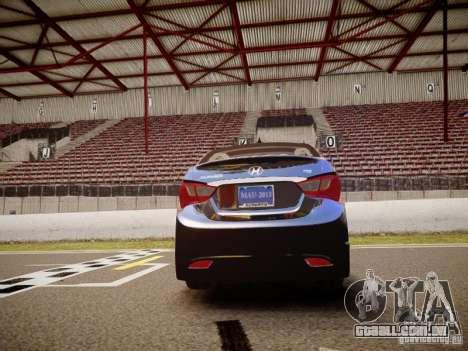 Hyundai Sonata 2011 para GTA 4 vista direita