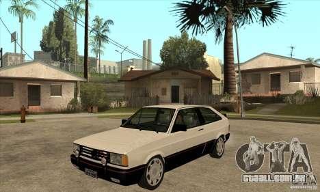 VW Gol GTS 1989 para GTA San Andreas
