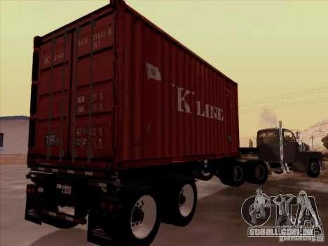 Container para GTA San Andreas vista direita