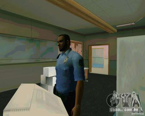 Azeri Polis para GTA San Andreas terceira tela