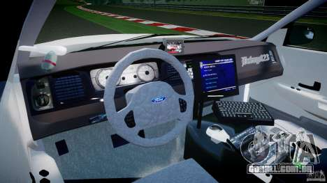 Ford Crown Victoria NYPD [ELS] para GTA 4 vista direita