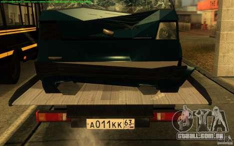Caminhão de reboque 14 3302-gazela para GTA San Andreas vista traseira