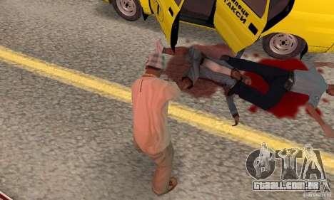 Hot adrenaline effects v1.0 para GTA San Andreas