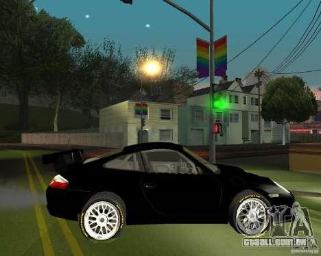 Porsche 911 GT3 para GTA San Andreas vista direita