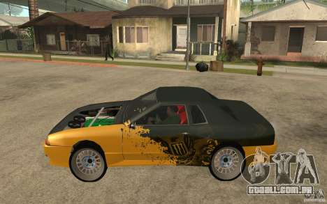 Monster Elegy para GTA San Andreas esquerda vista