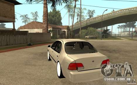 Nissan Maxima 1998 para GTA San Andreas traseira esquerda vista