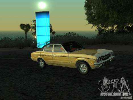 Ford Cortina MK 3 Life On Mars para GTA San Andreas