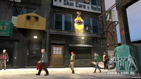 Break on Through beta MOD para GTA 4 por diante tela
