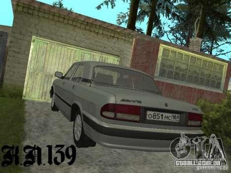 Gaz 3110 beta 0.1 para GTA San Andreas esquerda vista