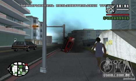 Fix Auto para GTA San Andreas terceira tela