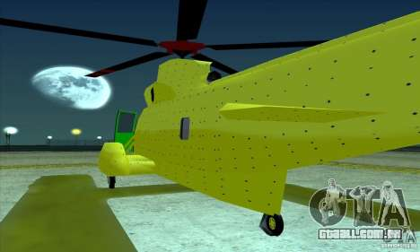 Leviatã avançado para GTA San Andreas esquerda vista