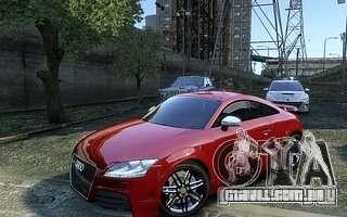 Audi TT RS 2010 para GTA 4 traseira esquerda vista
