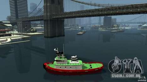 TUG Texture and Handling para GTA 4 esquerda vista