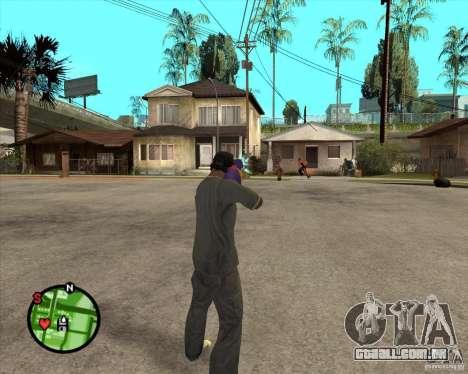 Pistola d'água para GTA San Andreas segunda tela