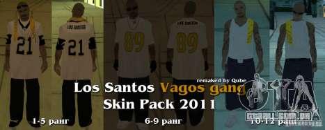 Novas skins The Gang de Vagos para GTA San Andreas