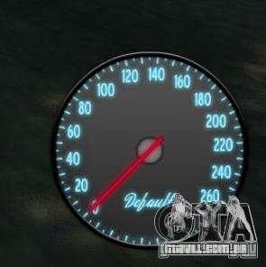 Velocímetro IV (pele 3) para GTA 4 segundo screenshot