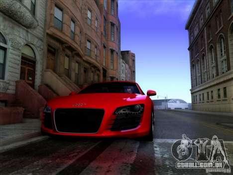 Realistic Graphics HD 2.0 para GTA San Andreas por diante tela