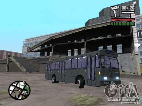 FBW Hess 91U para GTA San Andreas esquerda vista