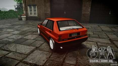 Lancia Delta HF 4WD para GTA 4 vista lateral
