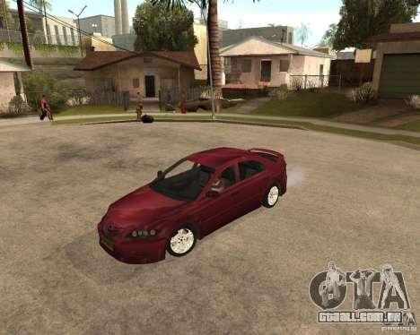 Mazda 6 Sport para GTA San Andreas esquerda vista