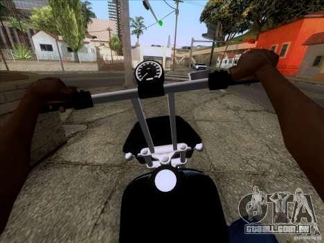 Harley Davidson FXD Super Glide para GTA San Andreas vista direita