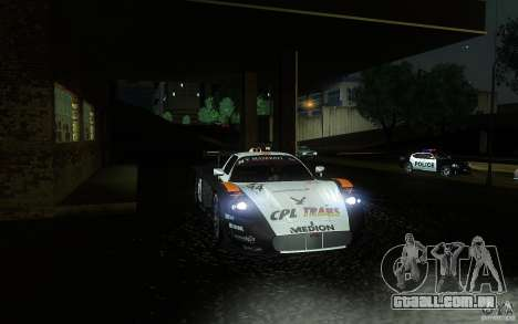 Maserati MC12 GT1 para GTA San Andreas vista superior