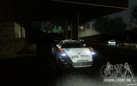 Maserati MC12 GT1 para GTA San Andreas vista superior