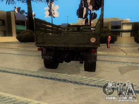 ZIL 4334 maior patência para GTA San Andreas vista direita