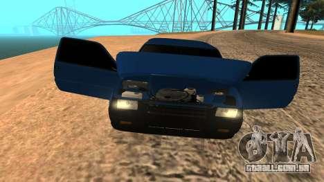 VAZ 1111 Oka para GTA San Andreas vista superior