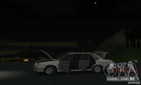 VAZ 2115 para GTA San Andreas vista interior