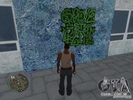 My Gang Tags para GTA San Andreas quinto tela