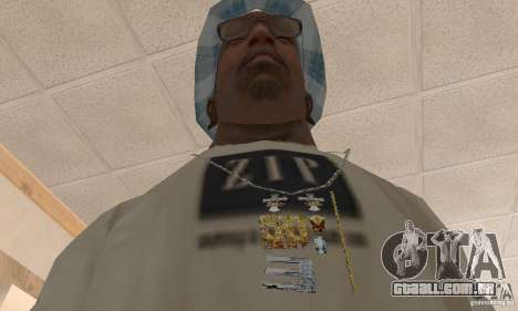 Eminem and 50 Cent double chain para GTA San Andreas segunda tela