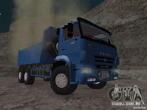 KAMAZ 65222 para GTA San Andreas