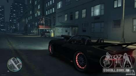 Red Neon  Banshee para GTA 4 vista direita
