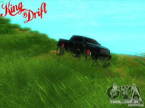 Toyota Tundra OFF Road Tuning para GTA San Andreas vista interior