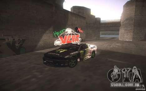 Ford Mustang Monster Energy para GTA San Andreas