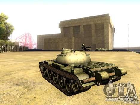 Type 59 V2 para GTA San Andreas esquerda vista